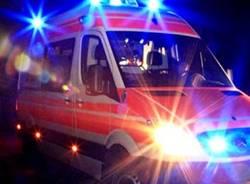 ambulanza notte incidente