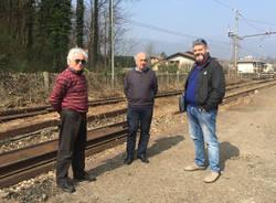Bisuschio - Sopralluogo Rfi alla stazione