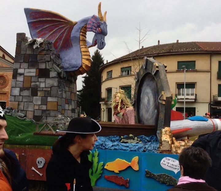 La sfilata del carnevale vergiatese
