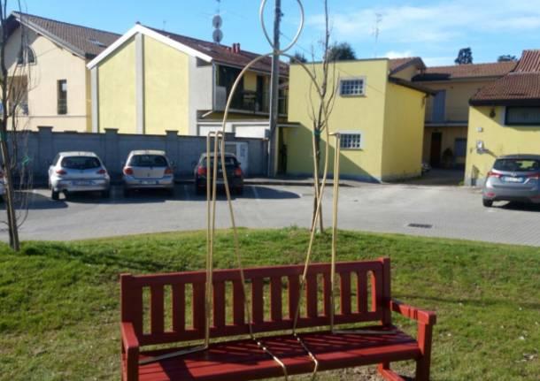 Scultura nel Parco Borletti ricorda le vittime di femminicidi
