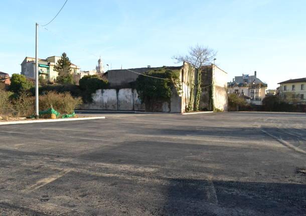 I lavori al parcheggio di San Michele