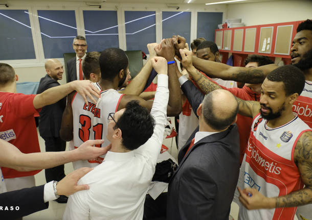 Openjobmetis Varese – Betaland Capo d'Orlando 74-72