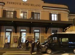 Passata al setaccio la stazione: controlli dei carabinieri