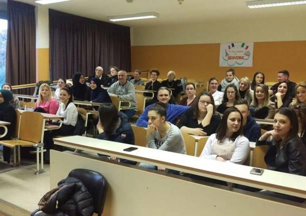 Challans - Saronno: scambi non solo scolastici ma anche di tirocinio