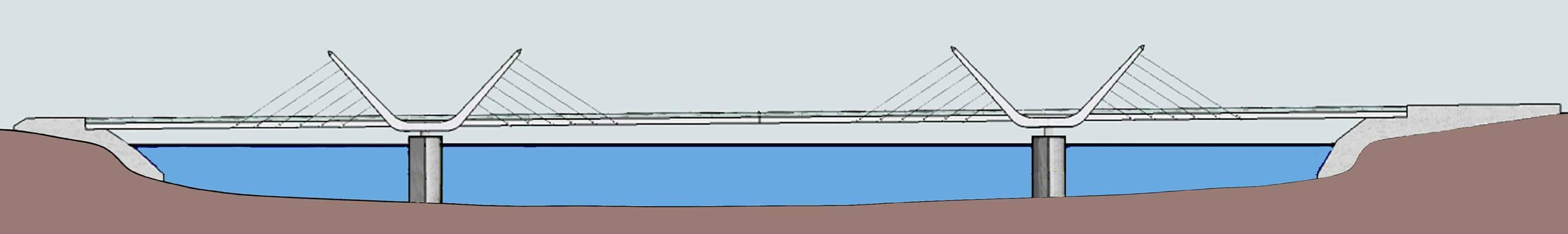 Il progetto del ponte sul Ticino tra Sesto e Castelletto