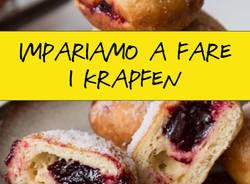 Impariamo a fare i krapfen. Corso di cucina naturale