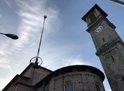 Le campane tornano sul campanile della basilica di Sant\'Agnese
