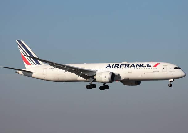Nuovo aereo Air France a Malpensa