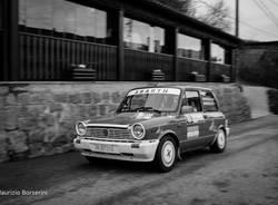 Rally dei Laghi 2017 - Bolidi d\'epoca in bianco e nero