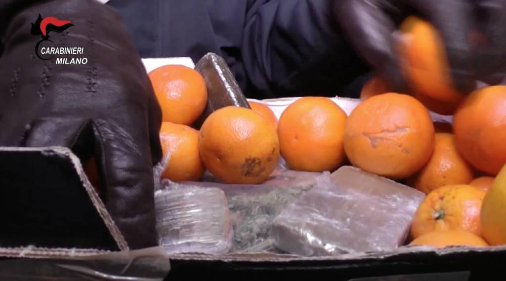 Frutta o ruota di scorta: tutti i nascondigli della droga
