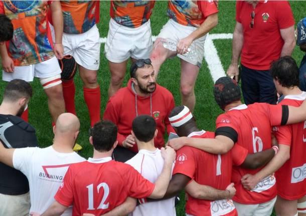 La trasferta del Rugby Varese sul campo dell'Amatori Union