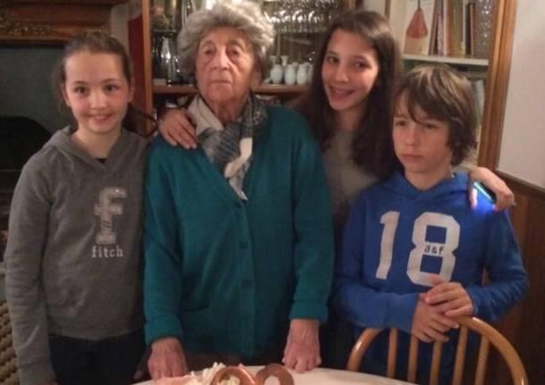 Cento anni Maria Merzagora Belvedere ranco