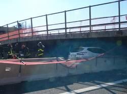 Crolla il ponte autostradale in A14