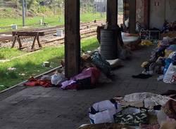 Degrado in stazione a Varese