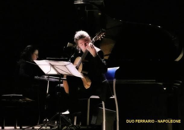duo pianoforte e chitarra  Andrea Ferrario ed Elena Napoleone