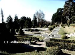 Fiori nei giardini pubblici di Varese