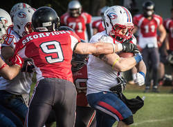 football americano blue storms skorpions 2017