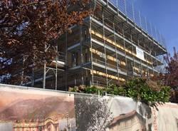 I restauri a Palazzo Verbania