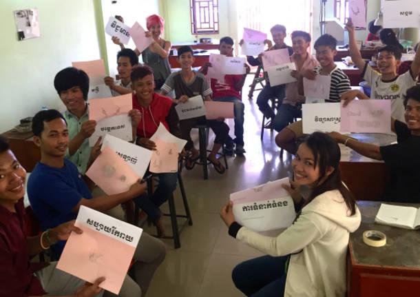 il nodo associazione di volontariato pro cambogia