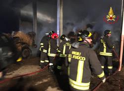 incendio azienda agricola induno olona