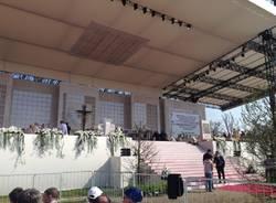 """La comunità """"Don Gnocchi"""" di Giubiano dal Papa a San Siro"""