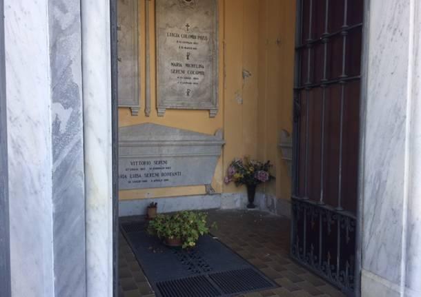 La tomba di Vittorio Sereni