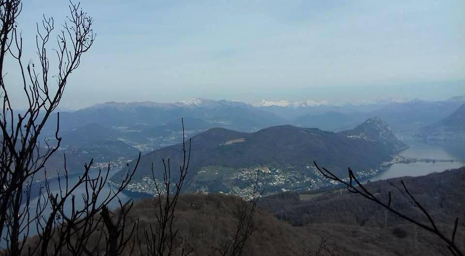 La Valceresio dal Monte Pravello - foto di Valentina Cipolletti
