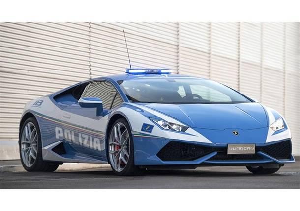 Alla Polizia Stradale arriva una nuova Lamborghini