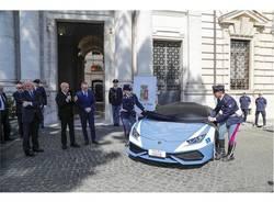 Lamborghini alla Polizia Stradale 2017