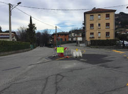 Lavori via Luino