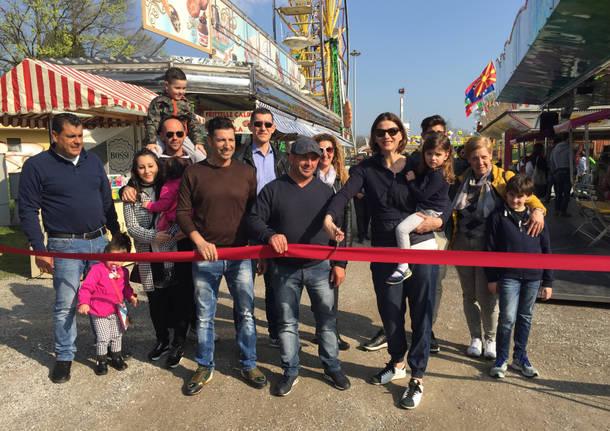 Luna park schiranna inaugurazione ivana perusin