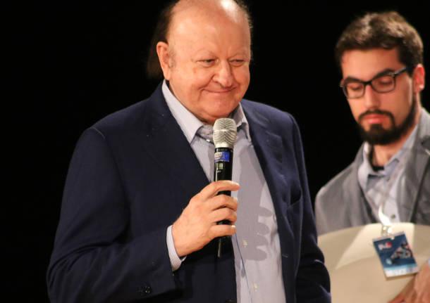 Massimo Boldi e gli altri premiati al Baff 2017