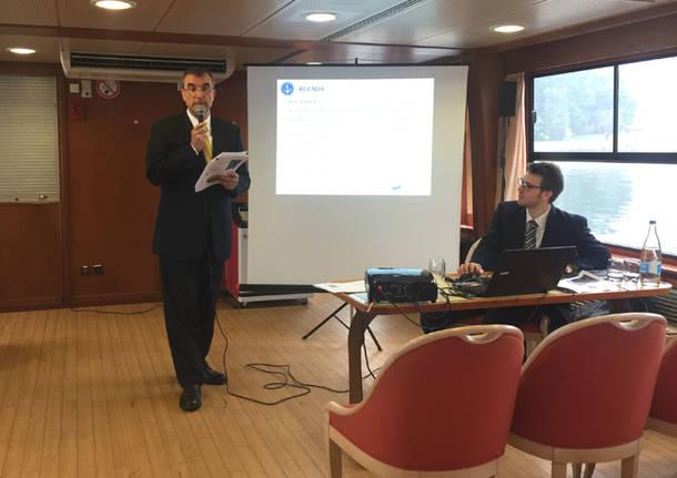 Navigazione Lago di Lugano: la conferenza stampa