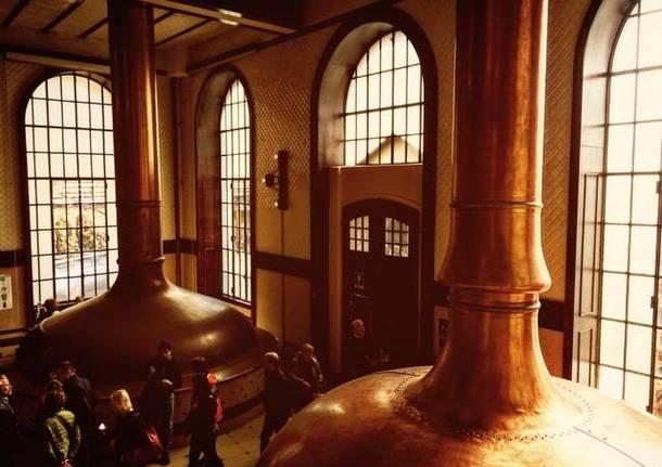 Nel cuore del birrificio Poretti - foto di Annalisa Genovese
