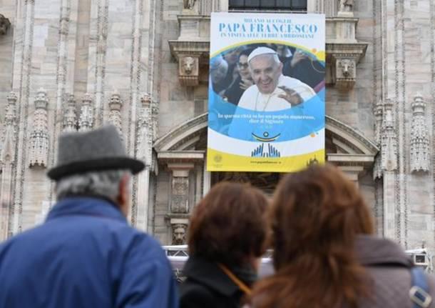 Papa Francesco a Milano