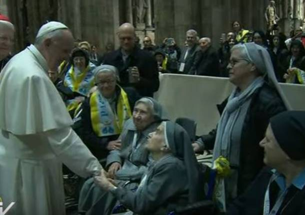"""Il Papa arriva a Milano. I giovani della  """"Don Gnocchi"""" in viaggio"""