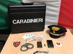 spaccio stazione nord busto arsizio carabinieri