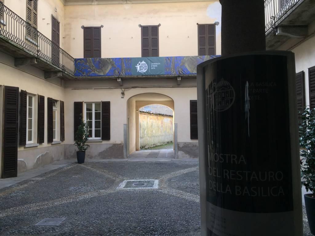 Spazio Postcastello restauro Gallarate