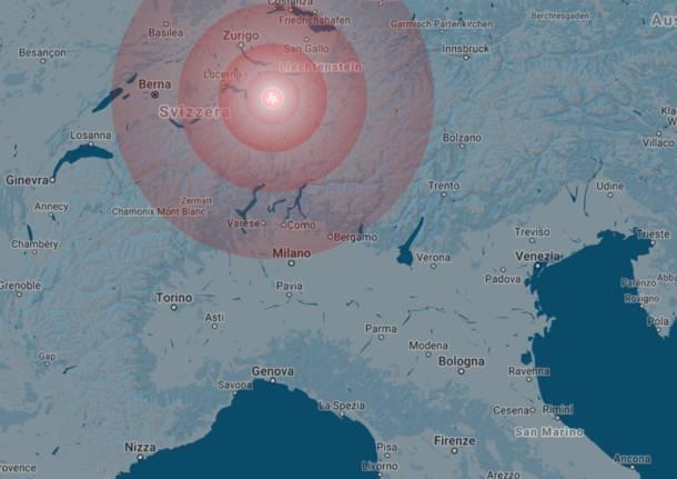 terremoto svizzera 6 marzo