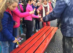Una panchina contro i femminicidi