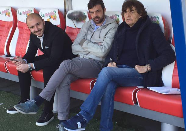 Varese calcio ritorno Stefano Bettinelli Silvio Papini