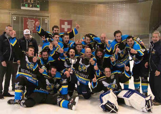 varese killer bees hockey su ghiaccio vittoria coppa ticino