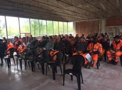 assemblea lavoratori aemme linea ambiente amga