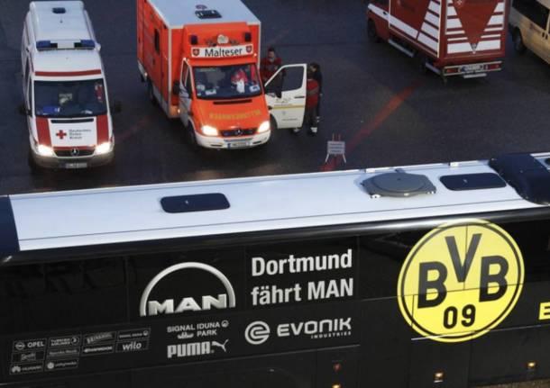 Germania: esplosioni contro il bus del Borussa Dortmund, ferito Batra