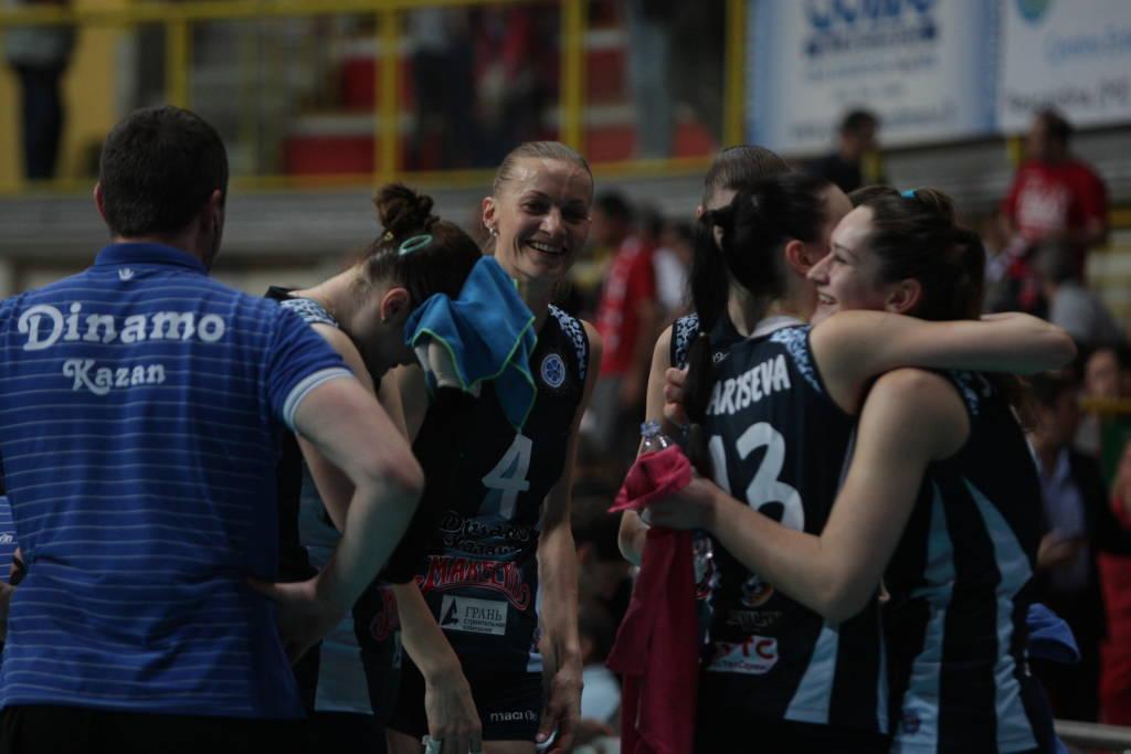 Uyba - Kazan, la finale di Cev Cup