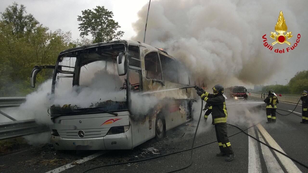 Lo spegnimento dell\'autobus