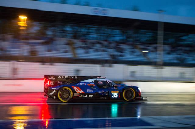 I bolidi del WEC sfrecciano a Monza