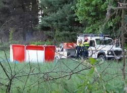 Incendio tra Saronno e Caronno: pompieri e protezione civile in azione