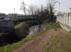 Sul torrente Lura un nuovo ponte ciclopedonale