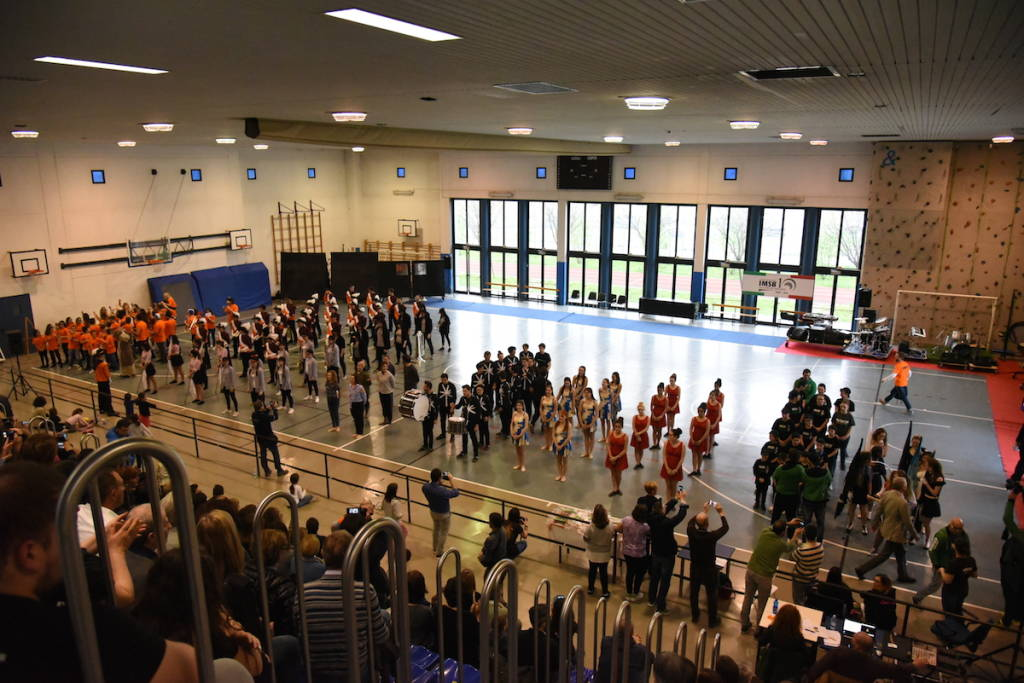 Color Guard and Percussion Day a Tradate